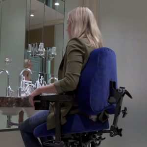 adaptive chair, lift chair, ergonomic chair, real adult chair, vela, enable me, adaptive seating