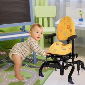baby with chair